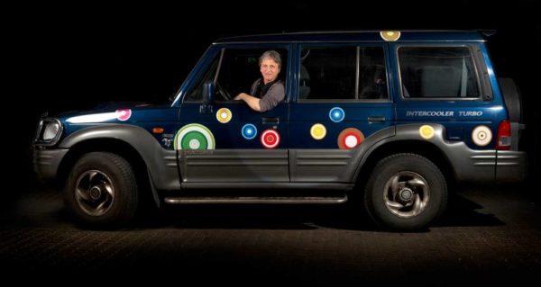 Klistermærker til bil - cirkler