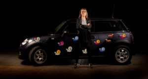 Klistermærker til bil - snegle