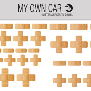 Stickers til bil - plastre til bil