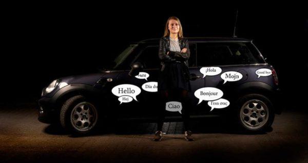 Stickers til bil - talebobler