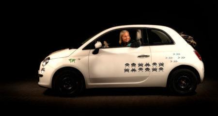 Stickers til biler - ArcadeGameBlack