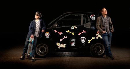 Bil-klistermærker---voodoo
