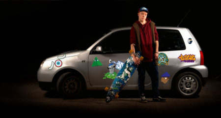 Graffiti bil klistermærker