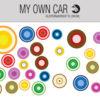Stickers til bil - cirkel klistermærker