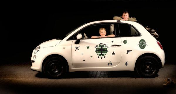 Bil klistermærker - army