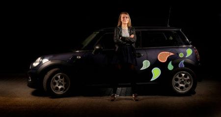 Klistermærker til bil -Paisley